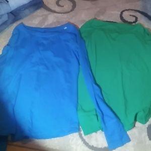 2 long sleeve so shirts